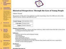 Historical Perspectives Through the Eyes of Young People Lesson Plan