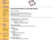 Grand Island History Through Murals Lesson Plan