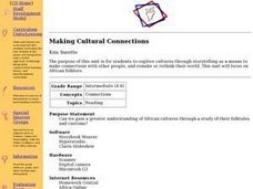 Making Cultural Connections Lesson Plan
