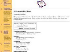 Making Life Easier Lesson Plan