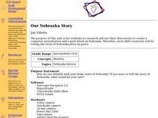 Our Nebraska Story Lesson Plan