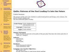 Quilts: Patterns of Our Past Leading Us Into Our Future Lesson Plan