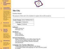 The City Lesson Plan