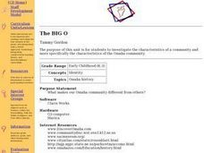 The Big O Lesson Plan