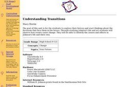 Understanding Transitions Lesson Plan