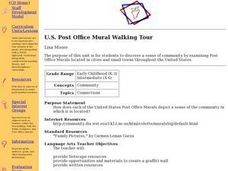 U.S. Post Office Mural Walking Tour Lesson Plan