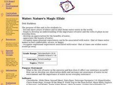 Nature's Magic Elixir Lesson Plan