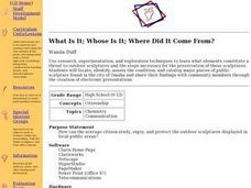 What Is It; Whose Is It; Where Did It Come From? Lesson Plan