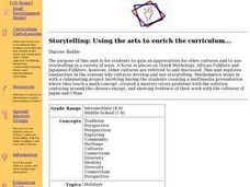 Storytelling: Using the arts to enrich the curriculum Lesson Plan