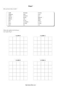 Bingo Esl Game Lesson Plans & Worksheets Reviewed by Teachers