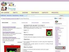 Monster In My Closet Lesson Plan