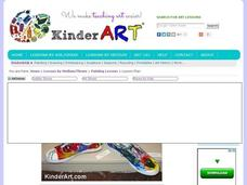 Painted Shoes Lesson Plan