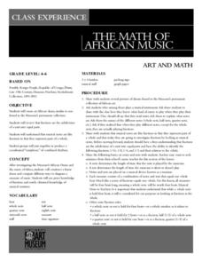 The Math Of African Music Lesson Plan