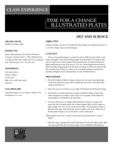 Time For A Change: Illustrated Plates Lesson Plan