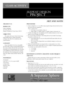 Repeat Design Project Lesson Plan