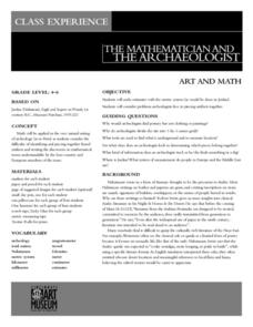 The Mathematician And The Archaeologist Lesson Plan