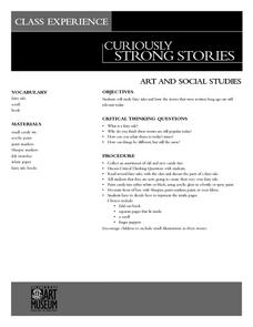 Curiously Strong Stories Lesson Plan
