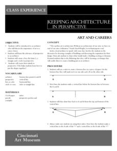 Keeping Architecture In Perspective Lesson Plan