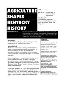 Agriculture Shapes Kentucky History Lesson Plan