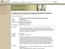 A Helping Hand: The Role of Guides During Western Expansion Lesson Plan