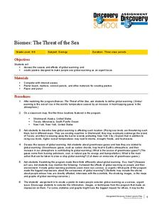Biomes: The Threat of the Sea Lesson Plan