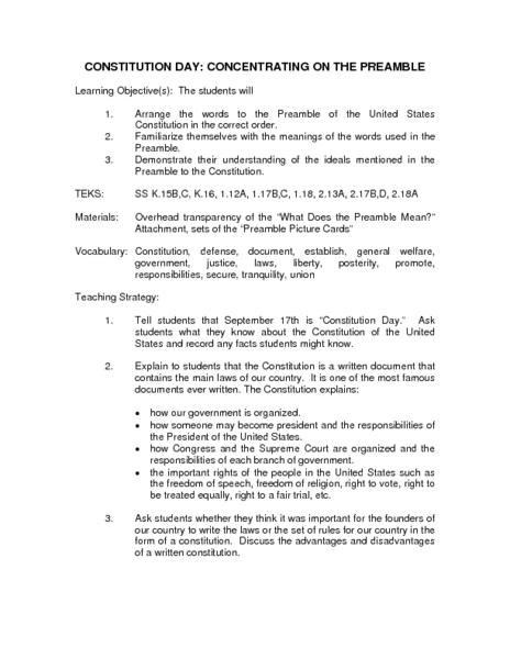 written constitution advantages and disadvantages