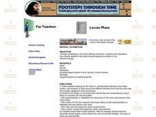 Bipedal Locomotion Lesson Plan