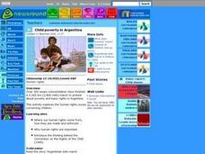 Child poverty in Argentina Lesson Plan
