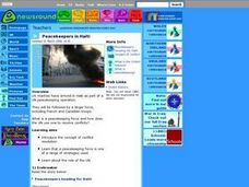 Peacekeepers in Haiti Lesson Plan