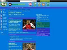 Racism In Football Lesson Plan