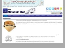 Missouri's Non-Partisan Court Plan Lesson Plan
