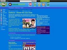 Audience-Smash Hits case study Lesson Plan