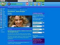 Storyboard--Kylie Minogue Lesson Plan