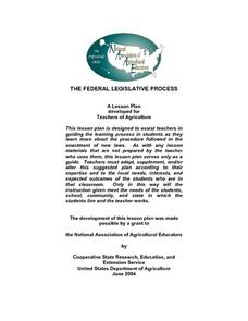 The Federal Legislative Process Lesson Plan