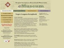 Negro Leagues Scrapbook Lesson Plan