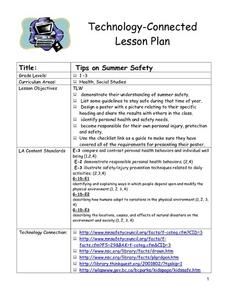 Tips on Summer Safety Lesson Plan