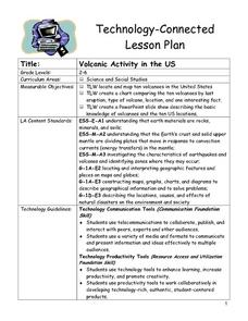 Volcanic Activity in the U.S. Lesson Plan