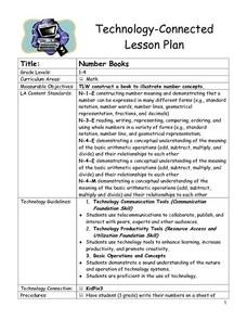 Number Books Lesson Plan