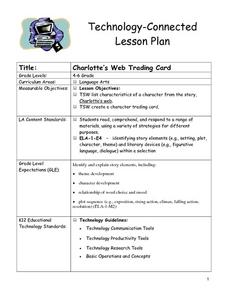 Charlotte's Web Trading Card Lesson Plan