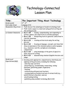 The Important Thing About Technology Lesson Plan