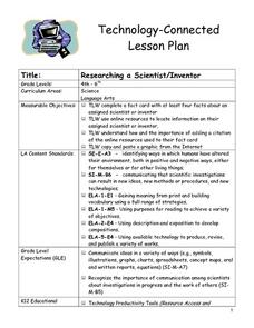 Researching a Scientist/Inventor Lesson Plan