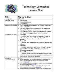 Pilgrims in Style Lesson Plan