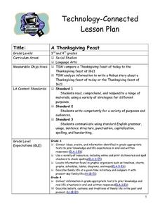A Thanksgiving Feast Lesson Plan