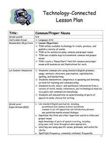 Common/Proper Nouns Lesson Plan