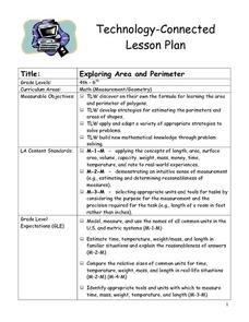 Exploring Area and Perimeter Lesson Plan