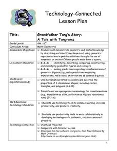 A Tale With Tangrams Lesson Plan