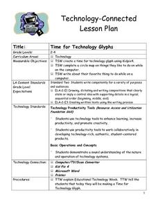 Time for Technology Glyphs Lesson Plan