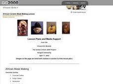African Ceramic Mask Making Lesson Plan