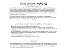 Gravity Versus The Mighty Egg - Biology Teaching Thesis Lesson Plan