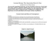 Lesson Recap: The Anacostia River & You - Biology Teaching Thesis Lesson Plan